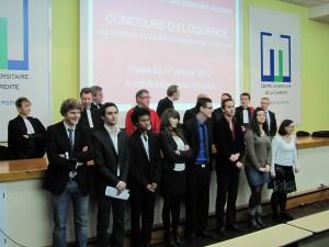 Concours d'éloquence 2012